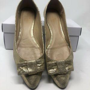 Women's Kate Spade New York gold glitter size 8